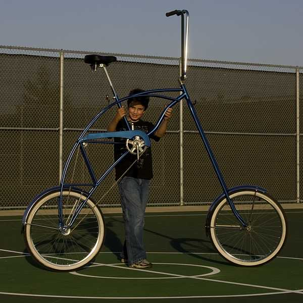 Fixed Gear Gallery :: 2008 open design contest entry :  tallbike contest 2008 entry