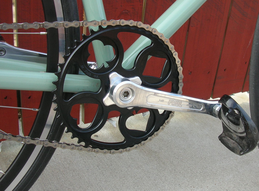 review of paul components crankset and hubset by the fixed gear gallery. Black Bedroom Furniture Sets. Home Design Ideas